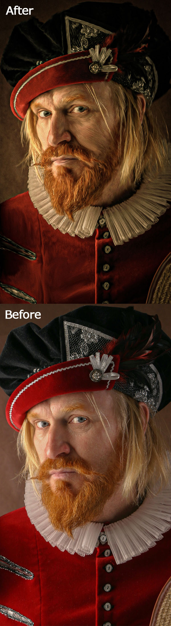 How to Make Oil Painting Effect in Photoshop Tutorial