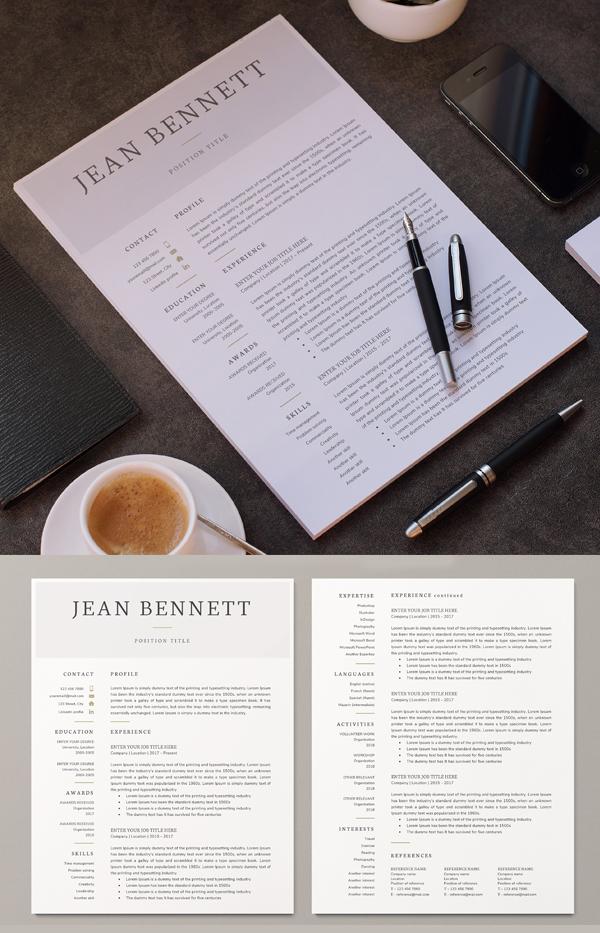 Best Resume Template / CV