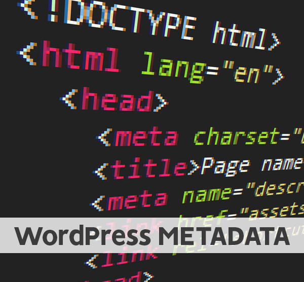 WordPress manage the Metadata better