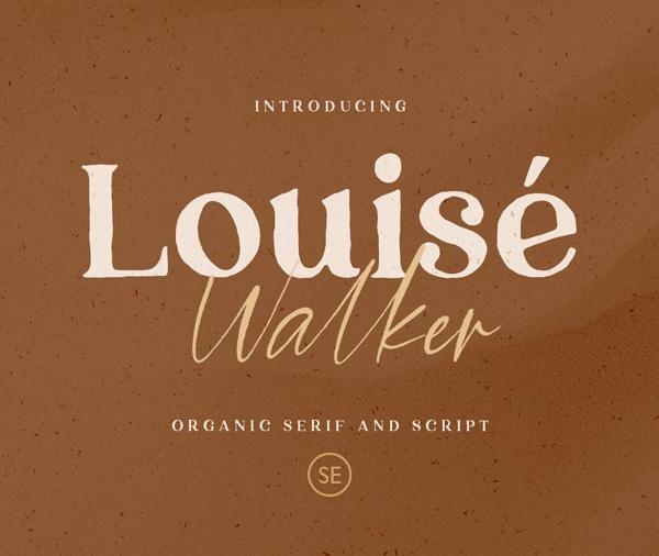 Louise Walker  Free Font