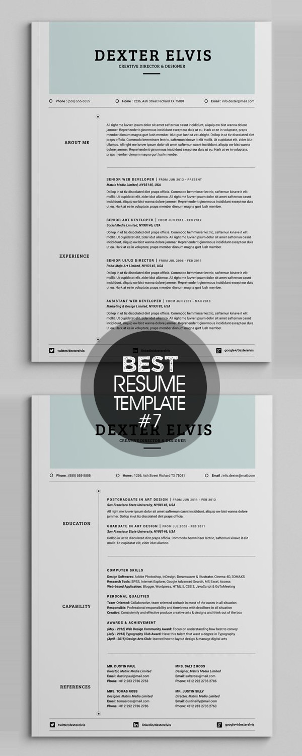 Best Sellers 2 Pages Powerful Resume