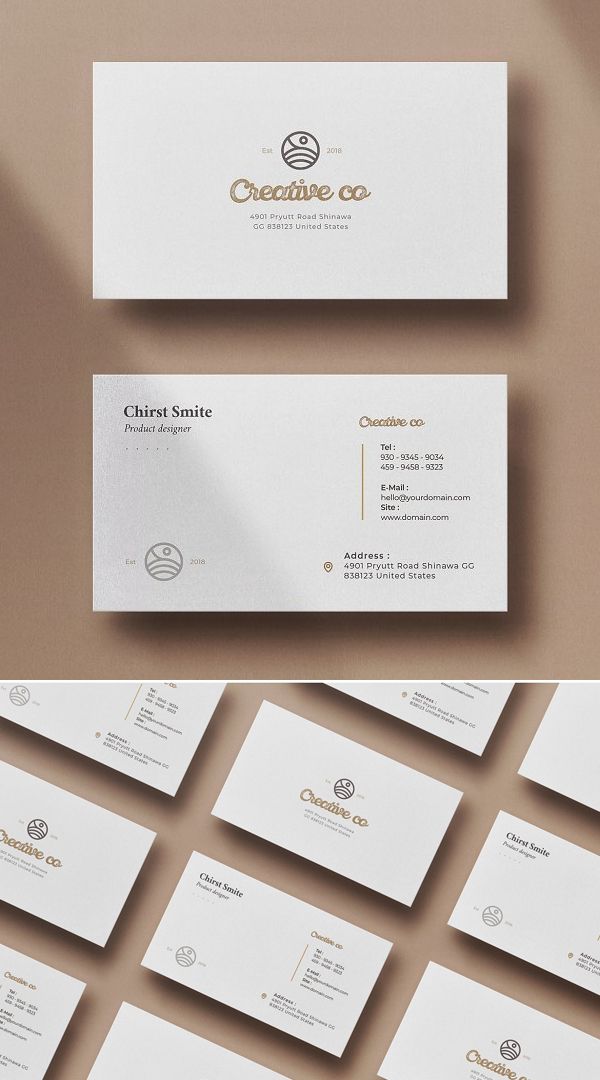 Simple Business Card