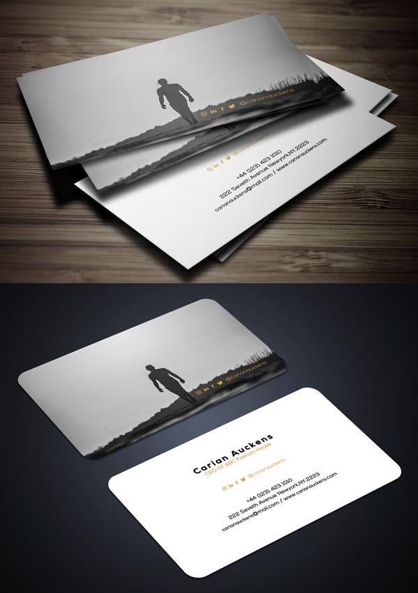 Man Fashion Business Card