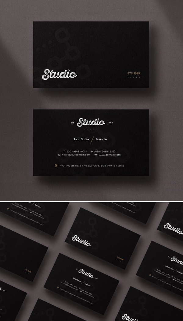 Awesome Minimal Business Card