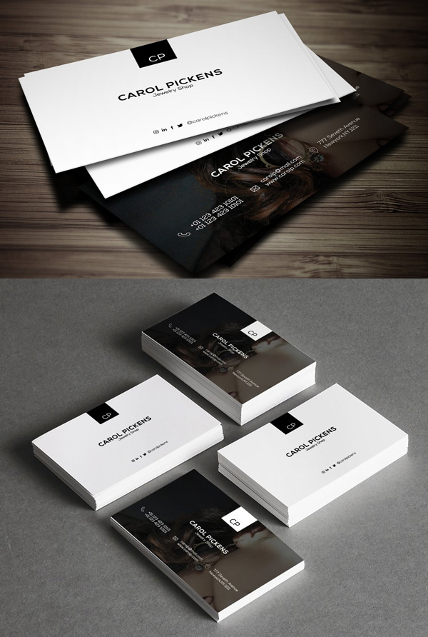 Jewelry Shop Business Card