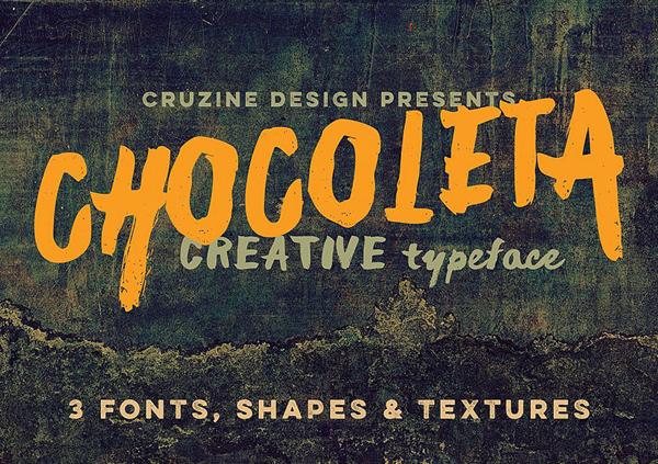Chocoleta Free Font