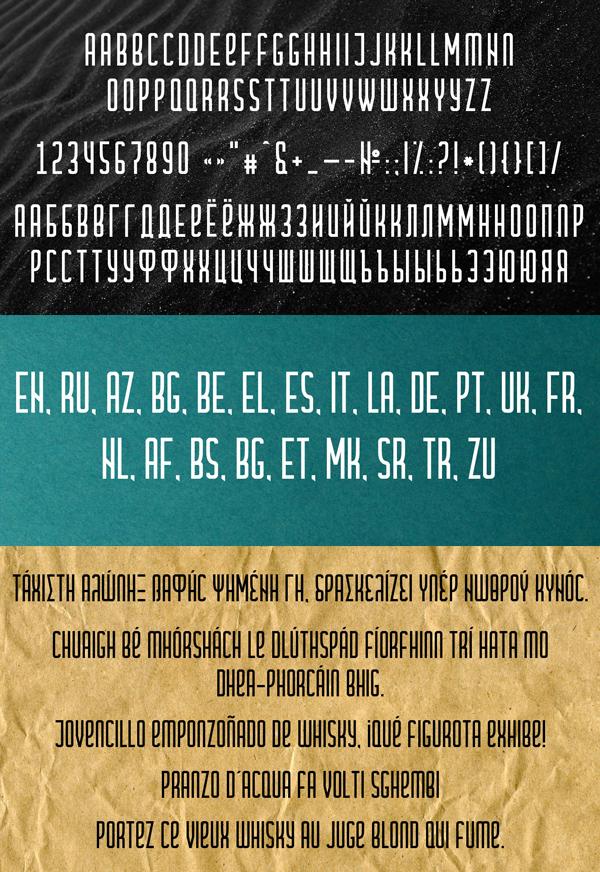 Cramaten Free Font Letters
