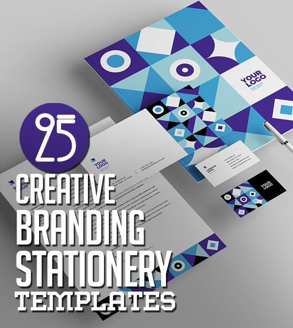 25 Creative Business Branding / Stationery Templates Design