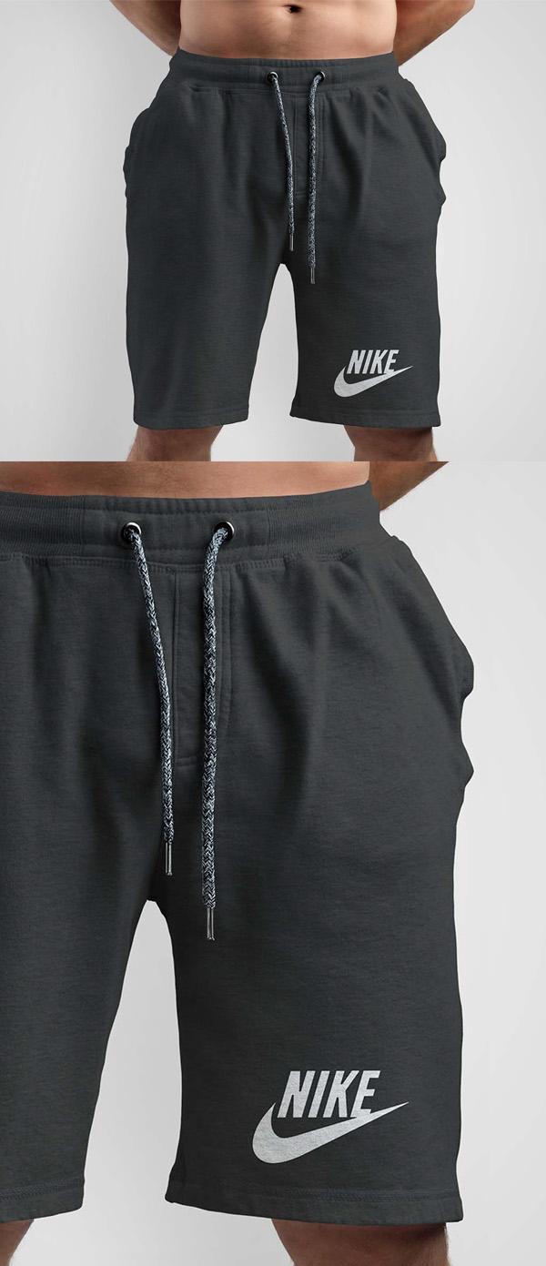 Free Nike Short Design Mcokup