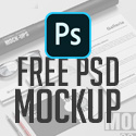 Post thumbnail of Free PSD Mockups: 28 High Quality Mockup Templates