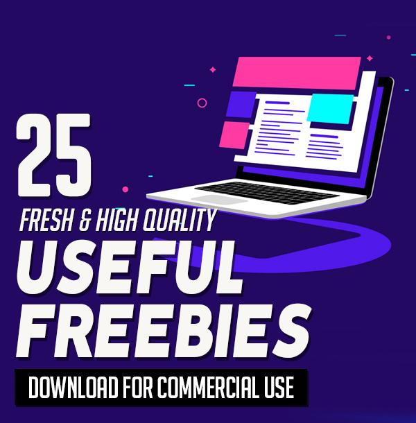 25 Fresh Freebies for Web & Graphic Designers