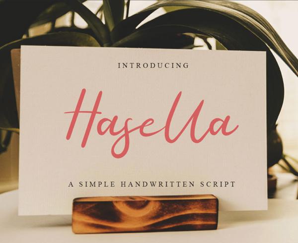 Hasella Free Font