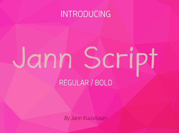 Jann Script Free Font