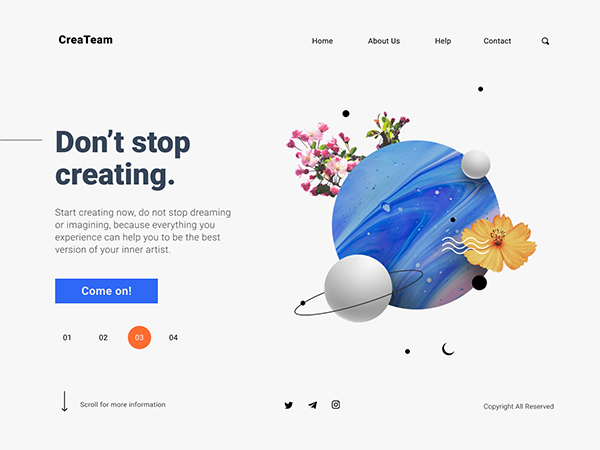 50 Modern Landing Page Design Concepts - 31