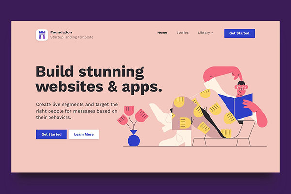 Bootstrap Landing Page HTML Template