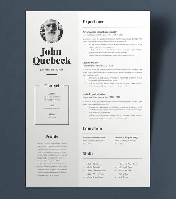 John Q Resume CV