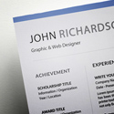 Post thumbnail of Freebie – Simple CV/Resume Template