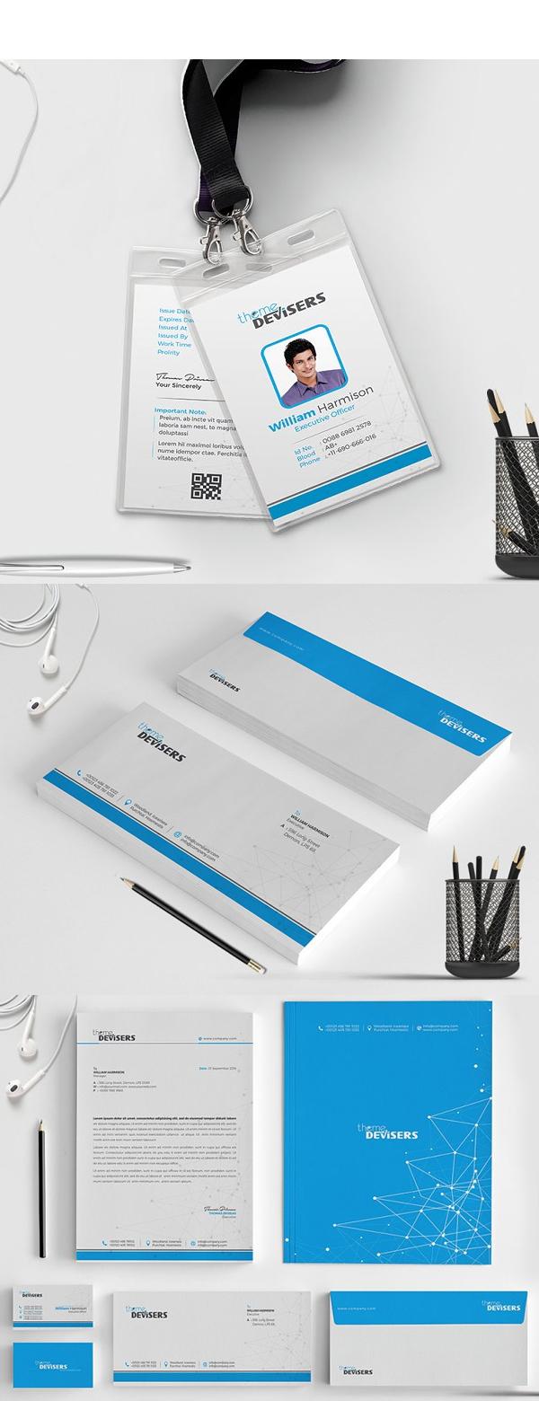 Stylish Corporate Identity Stationery