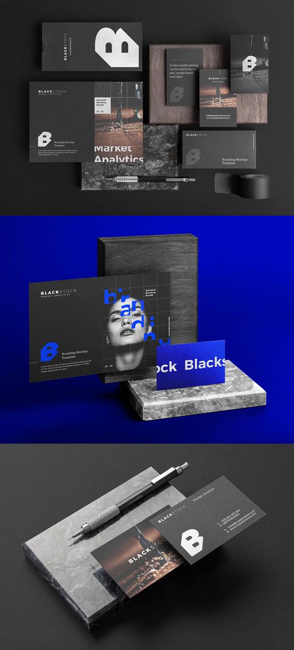 Blackstock Branding Mockup Kit