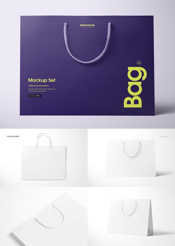 Eurotote Bag Mockup Set