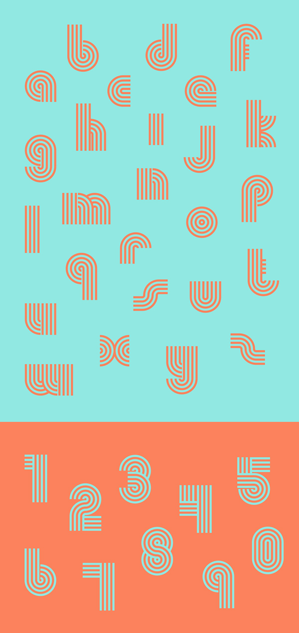Boogie Free Font Letters
