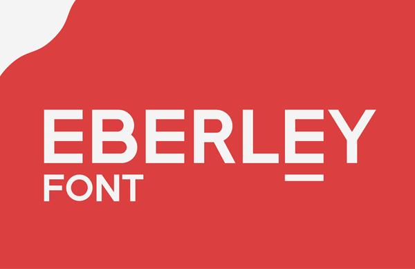 Eberley Free Font