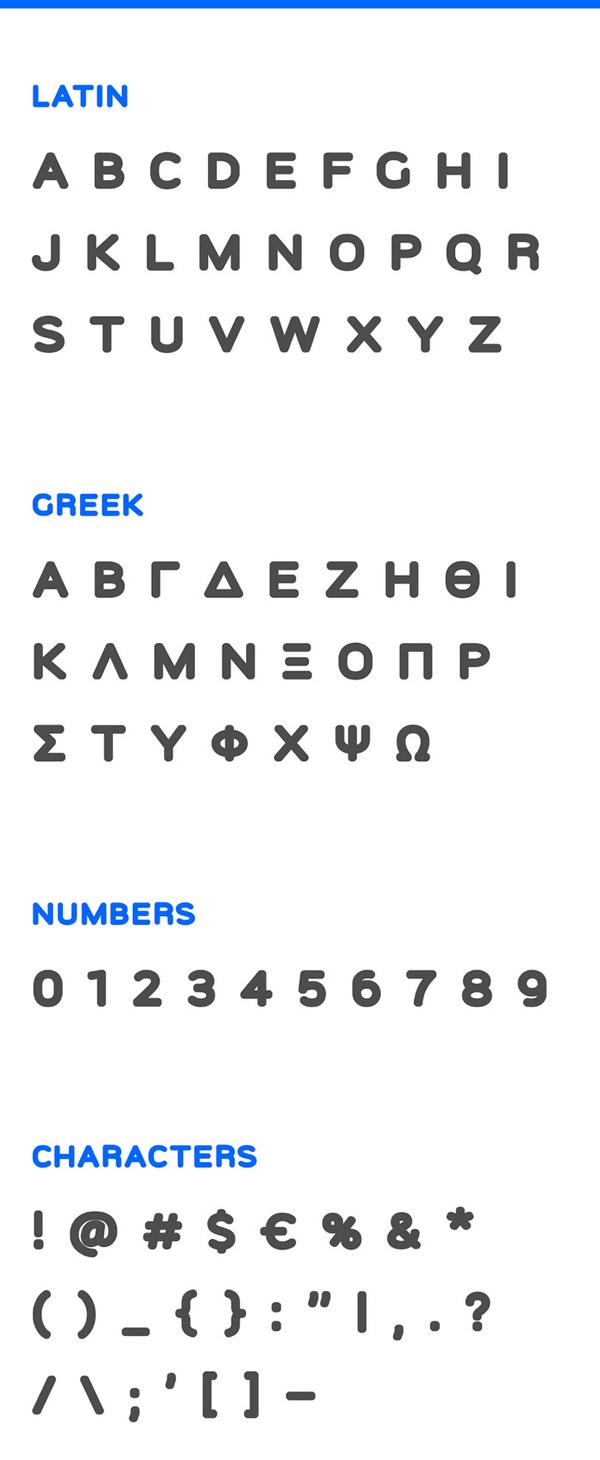 Figno Free Font Letters