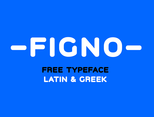 Figno Free Font