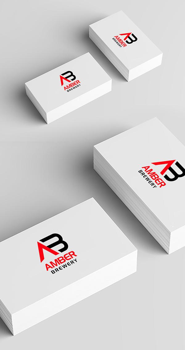 Free Download Business card Logo Mockup
