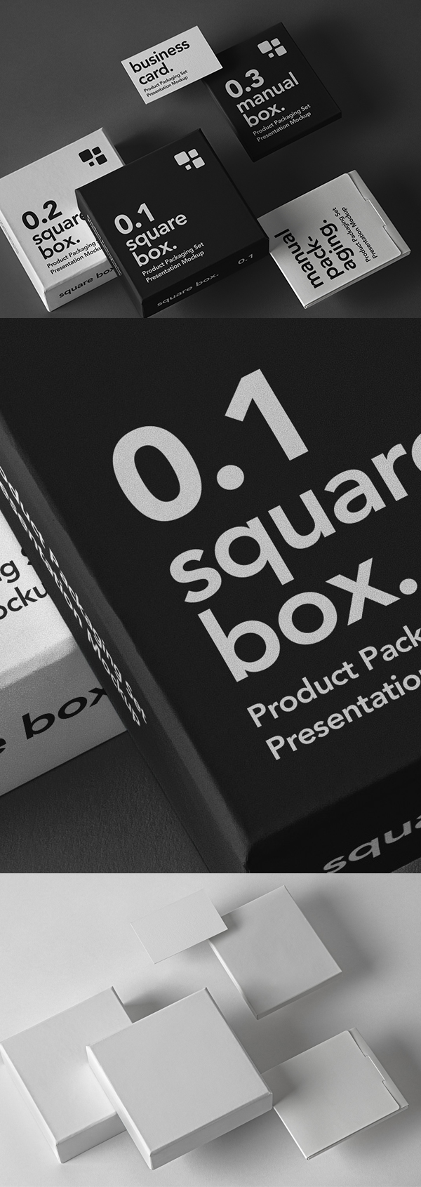 Free Psd Product Packaging Mockup Set