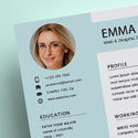 Post thumbnail of Free Resume 2 Page + Cover Letter Templates (PSD)
