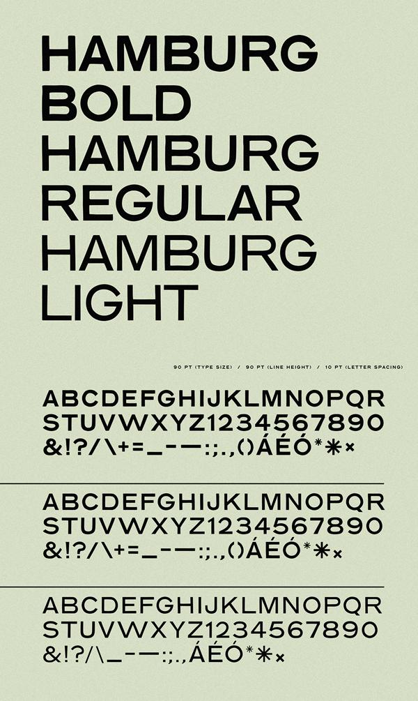 Hamburg Hand Free Font Letters
