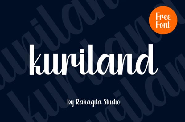 Kuriland Free Font