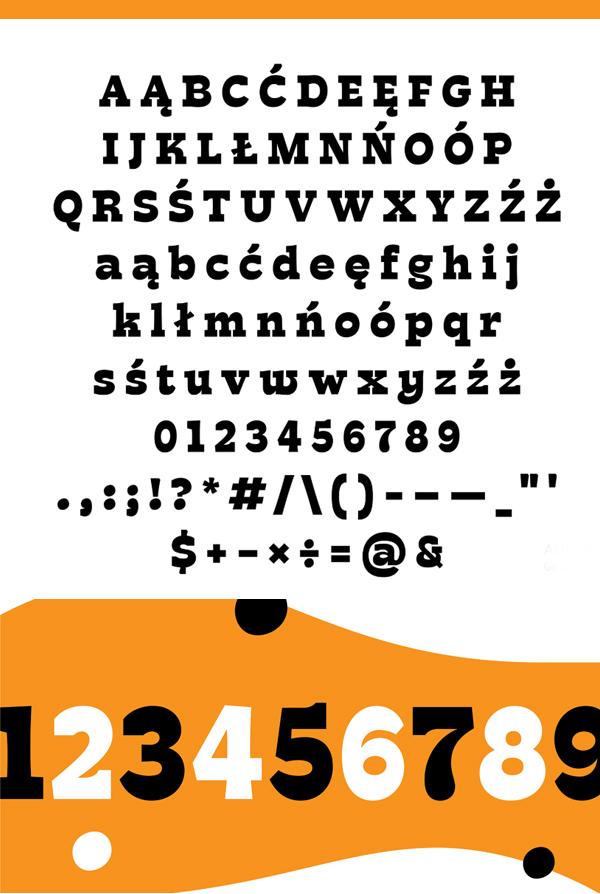 Larrikin Free Font Letters