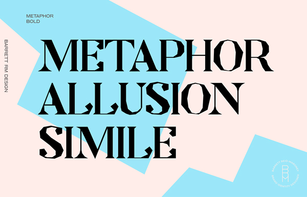 Metaphor Free Font