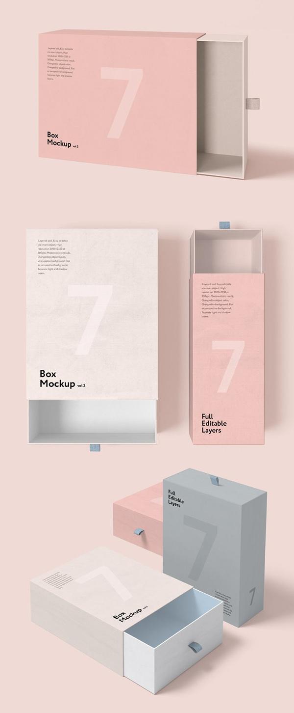 Creative Box Mockup