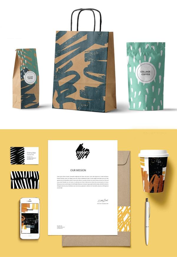 Jungle Collage   Artboards + Pattern