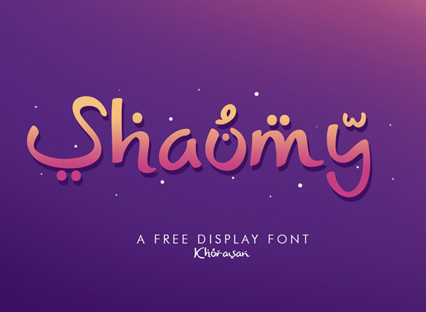 Shaumy Free Font