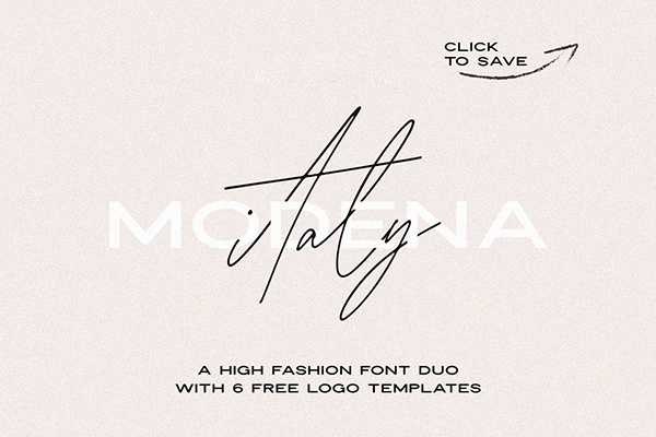 Modena Duo with 6 Free Logos