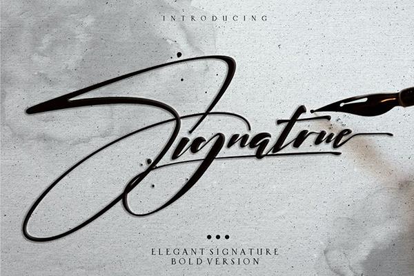 Signatrue Elegant Signature Taste