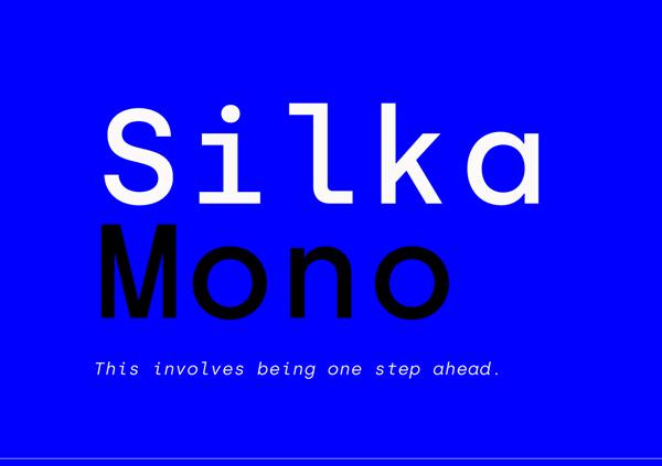 Silka Mono Free Font