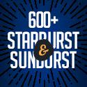 Post Thumbnail of 600+ Vintage / Retro Starburst and Sunburst Illustrated Sets