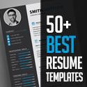 Post Thumbnail of 50+ Best CV Resume Templates 2020
