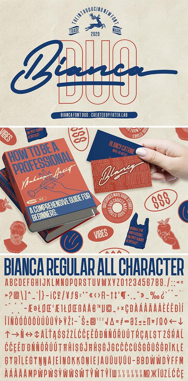 Bianca Font Duo