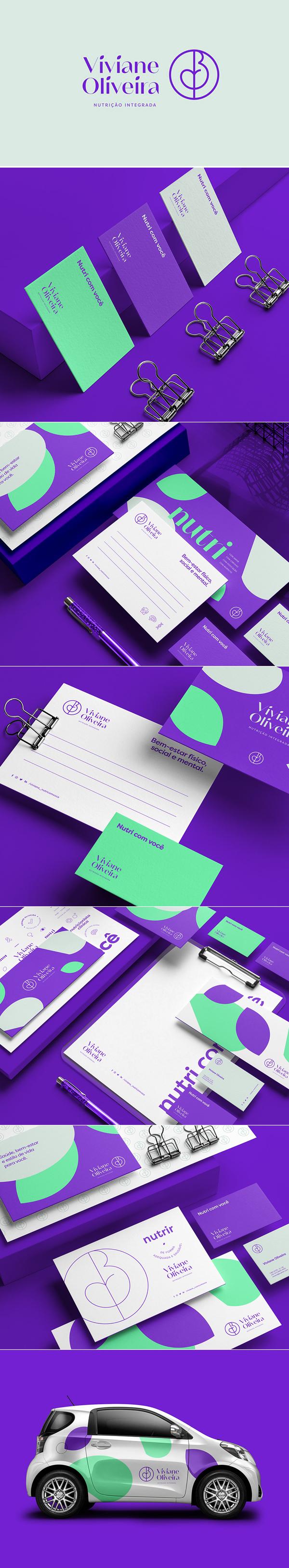 Viviane Oliveira Branding by John Dias
