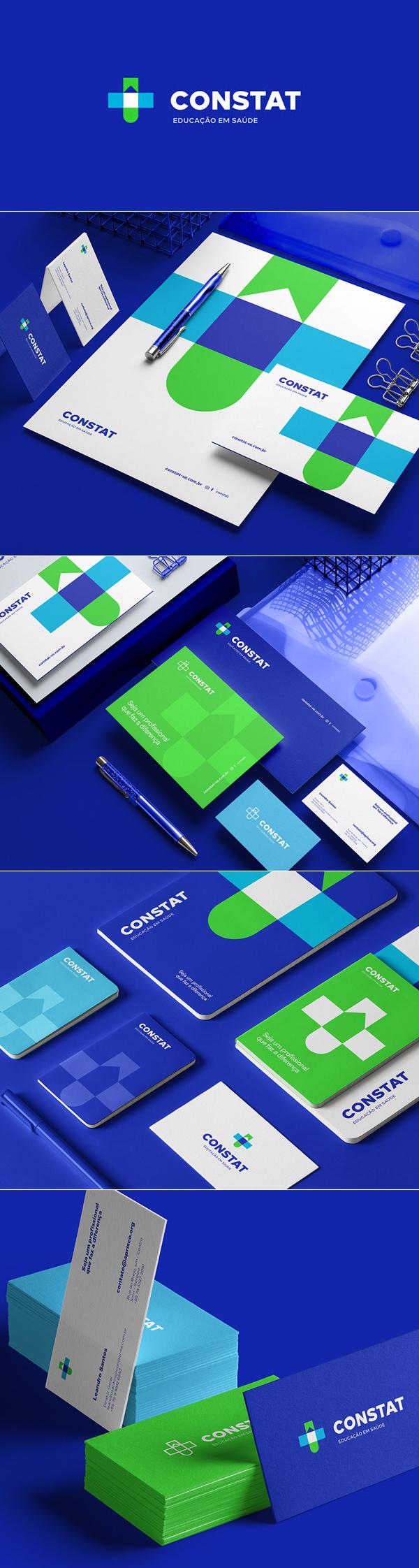 Constat Educaçao Branding by John Dias