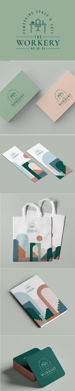 he Workery Interior Branding Design by ONTO Design Studio
