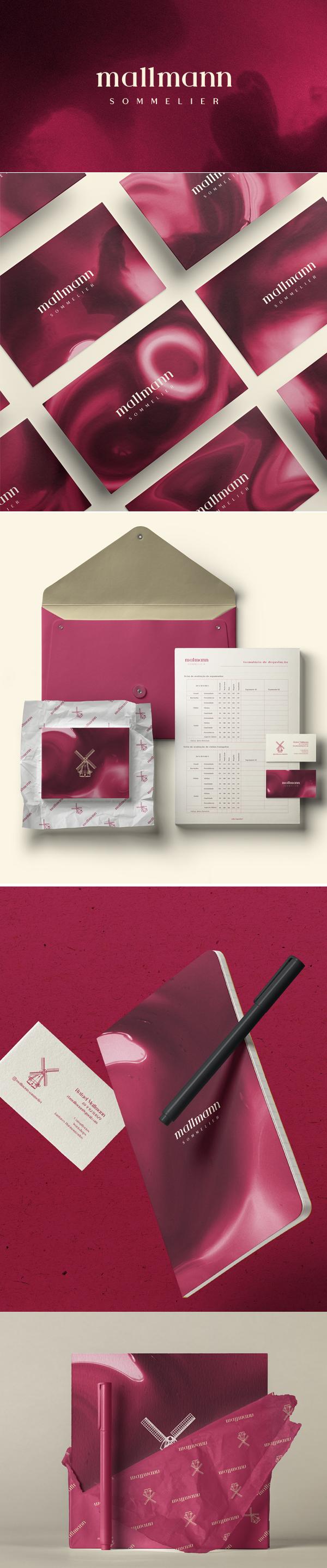 Mallmann Sommelier Branding by Dalini Arte