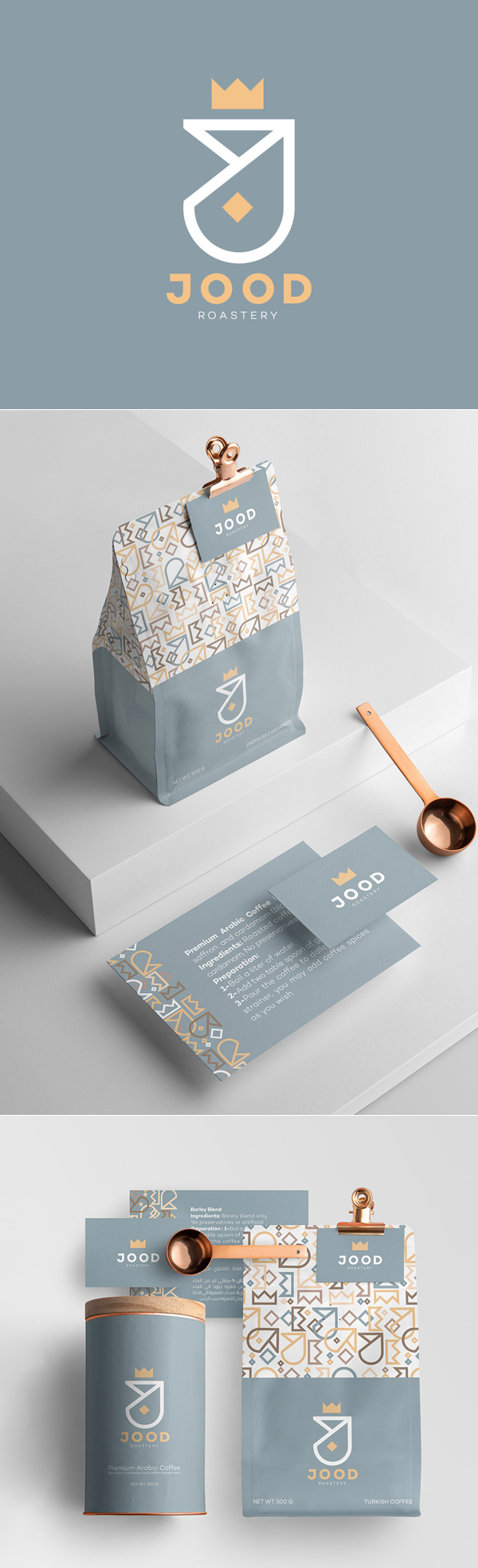 JOOD Branding Identity by Kinda Ghannoum