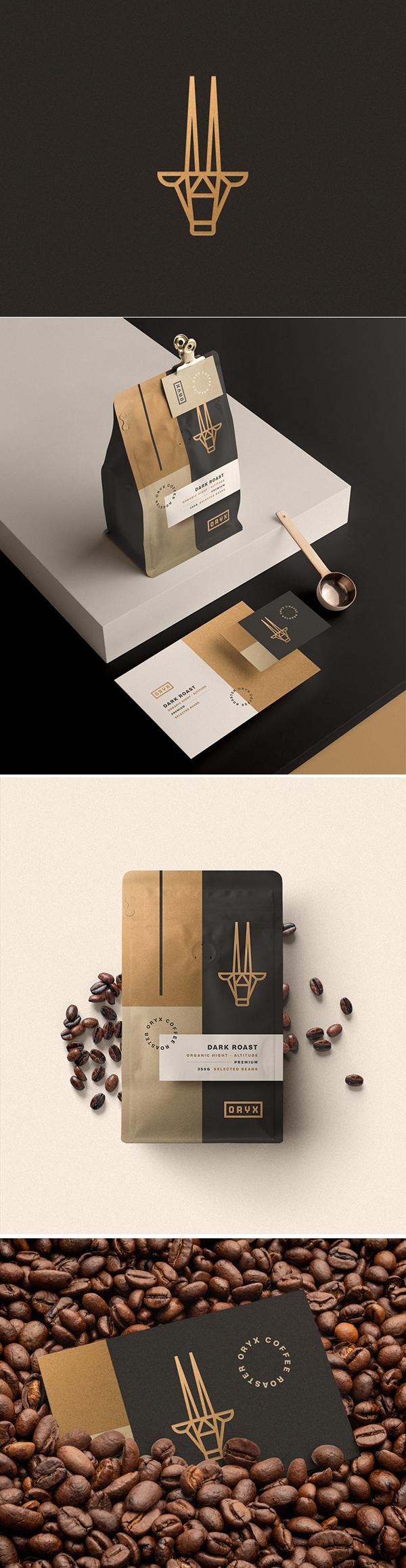 Oryx Coffee Roaster Branding by Guilherme Vissotto